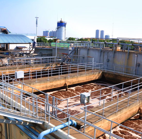 Wastewater treatment station of Hubei Xinye Tobacco Sheet Development Co., Ltd.
